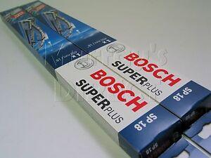Pair-of-Bosch-Super-Plus-18-034-Wiper-Blades-VW-Type-25-T25-Van-Camper-Caravelle