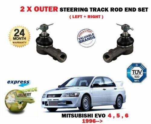 Pour Mitsubishi Lancer Evo 4 5 6 d/'importation 2.0 1997-2000 2x exterieur track tie rod end
