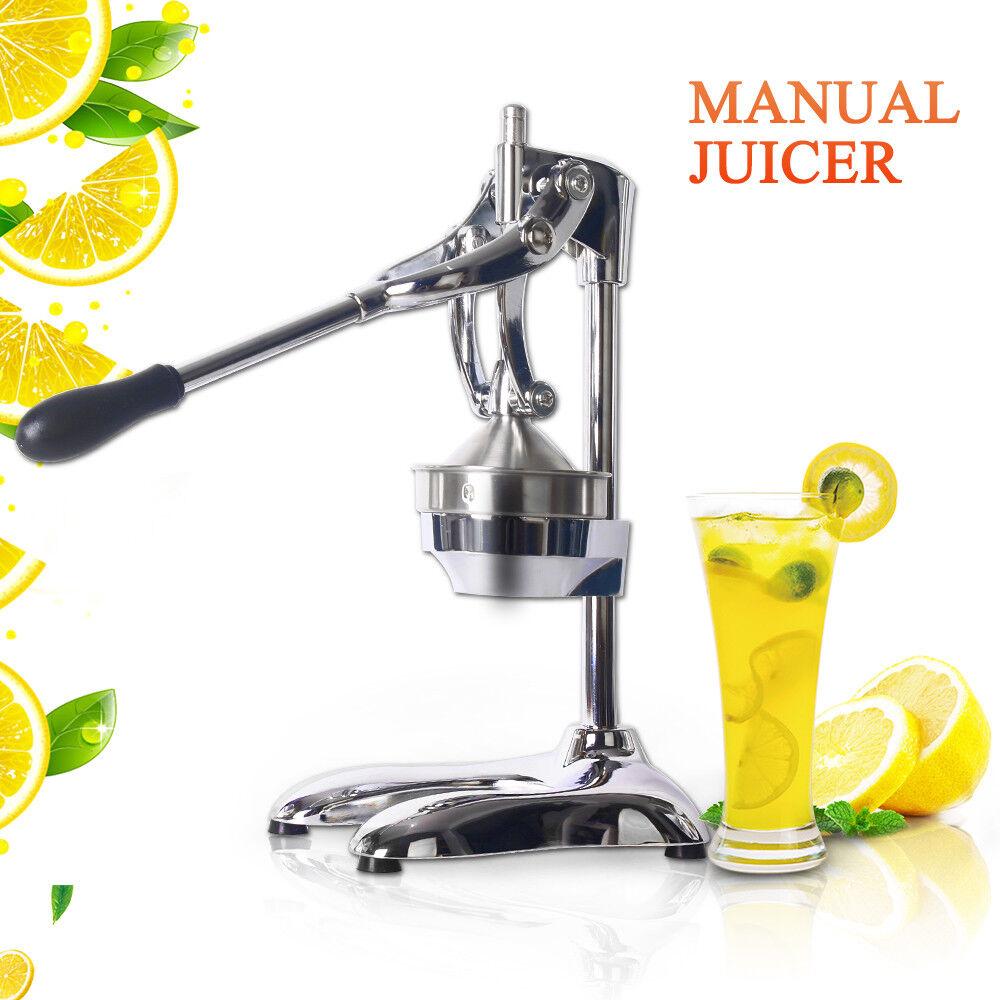 Manuel Presse à Main Centrifugeuse Presse-Jus de Fruits Extracteur en acier inoxydable
