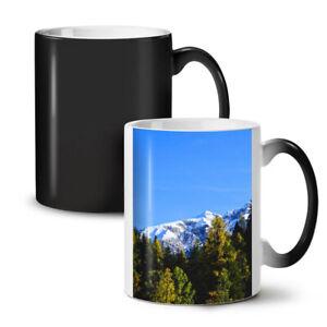 Snowy Mountain Nature NEW Colour Changing Tea Coffee Mug 11 oz | Wellcoda