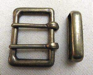 Ausdauernd GÜrtelschnalle Doppeldorn + Schlaufe Für 3,5cm Breite GÜrtel Stabil Metall 1a# Verschiedene Stile