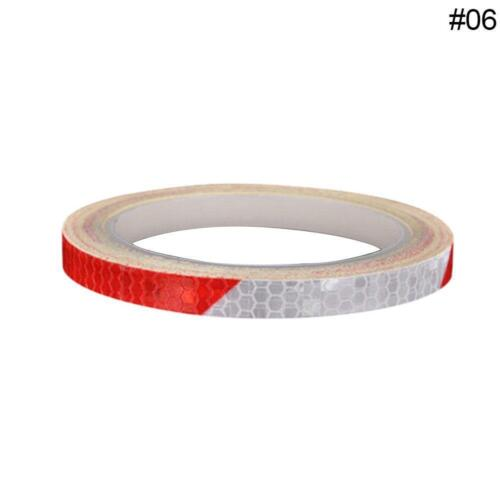 MTB Bike Bicycle Cycling Reflective Stickers Security Wheel Rim Decal Tape Sale