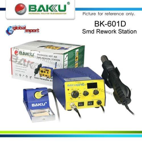 BAKU BK-601D STAZIONE SALDANTE ARIA CALDA 3 UGELLI PUNTA MICROSTILO EXP