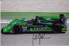 David Brabham SIGNED  Team Patron HPD ARX-03a   WEC 2012