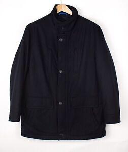 Walbusch Herren Wolle Polyamid Jacke Mantel Größe XL ATZ920