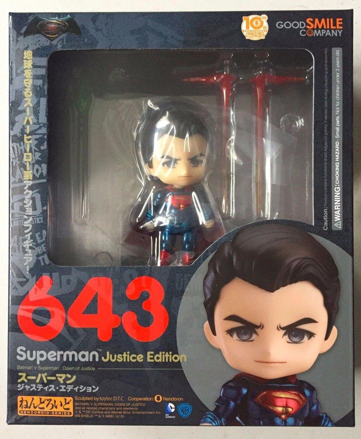 Dc comics superman justiz ausgabe nendGoldid actionfigur neu