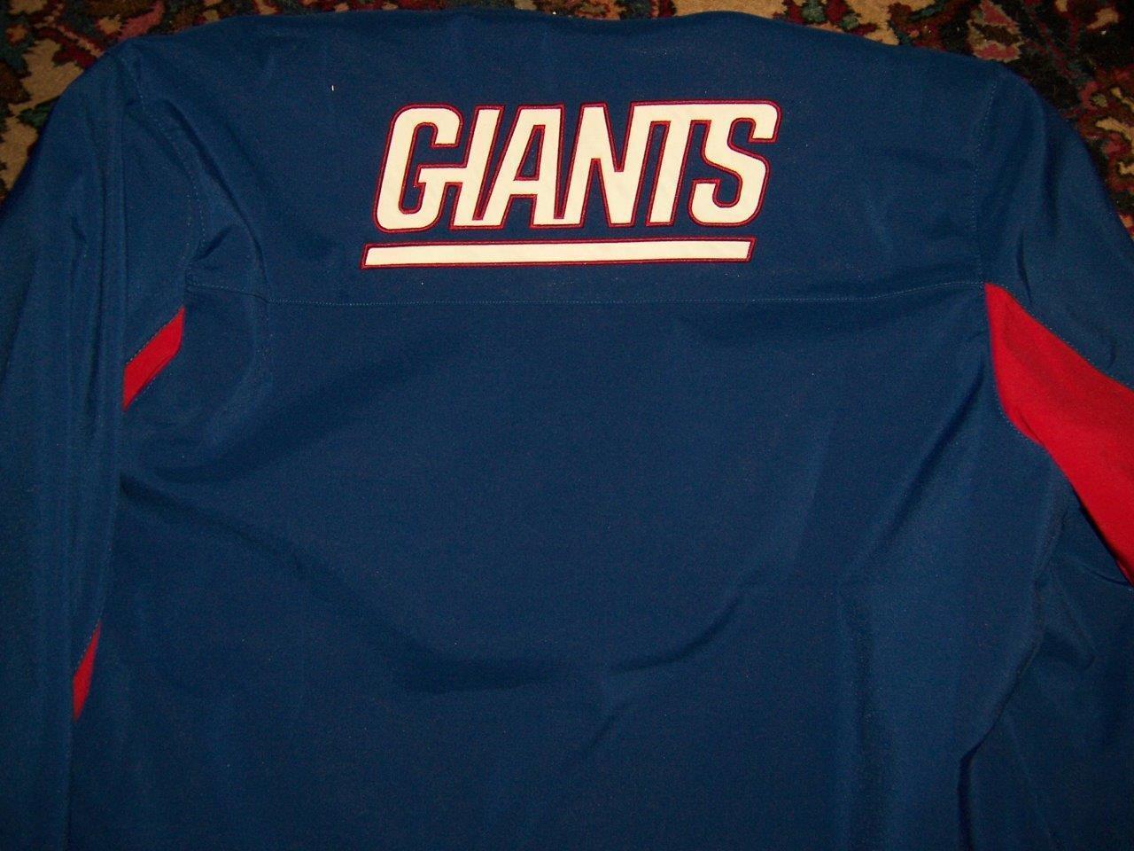 Para Hombre Chaqueta Chaqueta Chaqueta Ropa de equipo de NFL Gigantes GIII Apparel Group Tamaño Grande f280ff