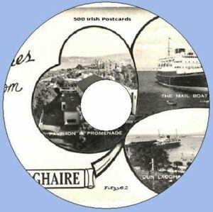 Ireland 500 Irish Postcards /& Photos Art /& Craft CD