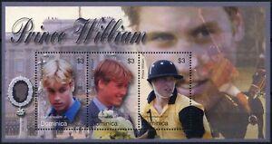Dominique 2003 Sg#ms3323 Prince William 21st Anniversaire Neuf Sans Charnière M/s #d74288-afficher Le Titre D'origine