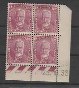 FRANCOBOLLI-1933-FRANCIA-FR-1-25-HUGO-MNH-MLH-E-2289