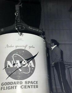 Vintage-8-x-10-Photo-NASA-Goddard-Space-Flight-Center-Nimbus-Spacecraft-System
