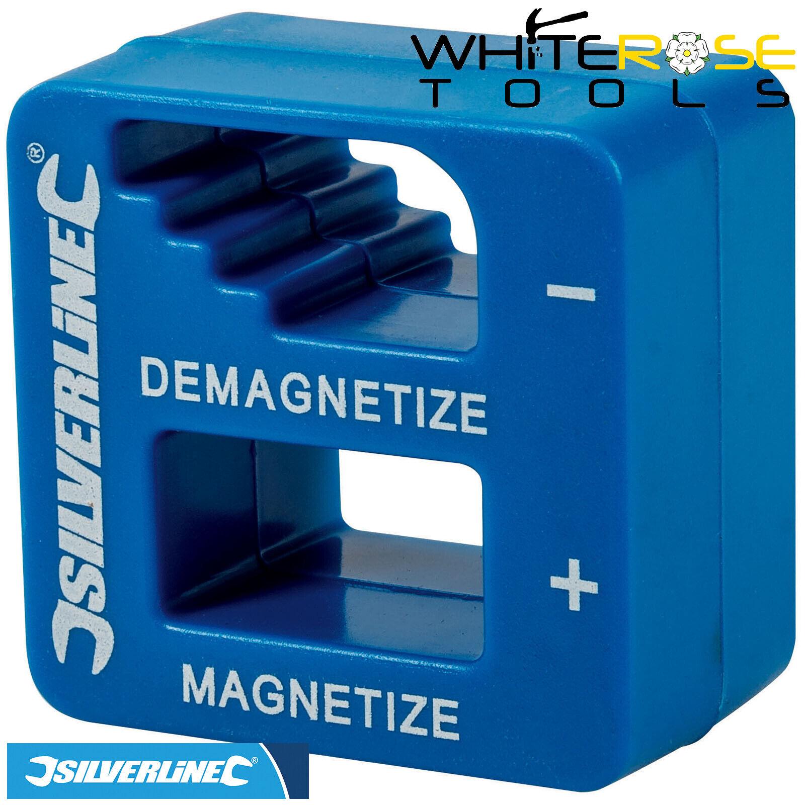 Silverline 245116 Magnetiser-demagnetiser 50 x 55 x 30mm