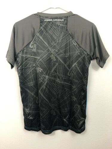 NEW Under Amour Heatgear Loose Stretch Kids Boy Girl Top Size M L XL