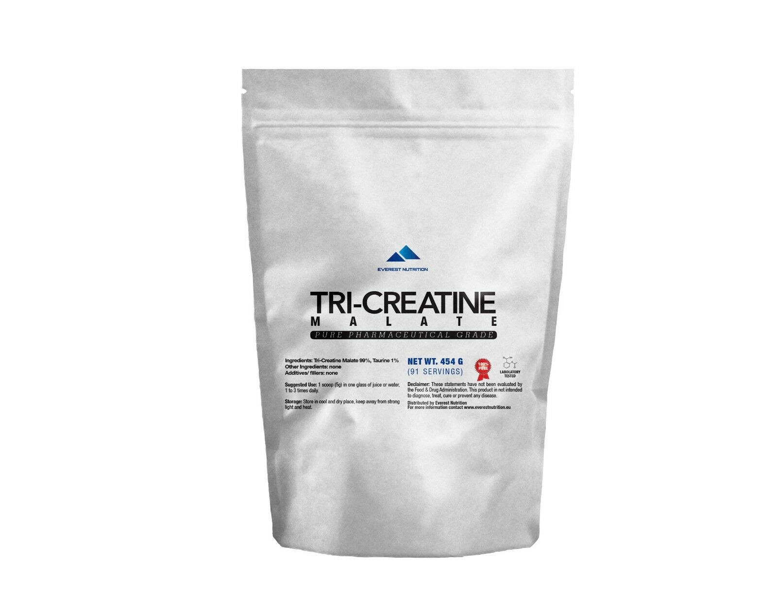 TCM TRI CREATINE MALATE 100% PURE POWDER LEAN MUSCLE WITHOUT BLOAT