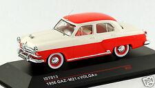 1/43 scale IST Models IST013 russian soviet GAZ M21 Volga sedan red beige MIB