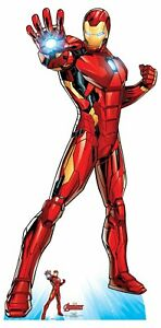 Iron-Man-Official-Lifesize-Marvel-Avengers-Cardboard-Cutout-with-Free-Mini