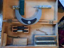 Suhl Screw Thread Pitch Micrometer 75 100mm Gewindemikrometer
