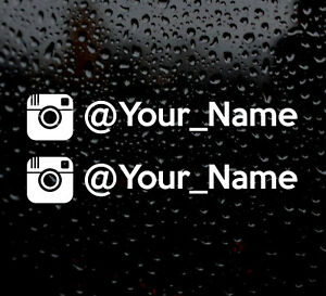 INSTAGRAM-YOUR-NAME-X2-FUNNY-JDM-DRIFT-EURO-WINDOW-VW-VINYL-DECAL-CAR-STICKER