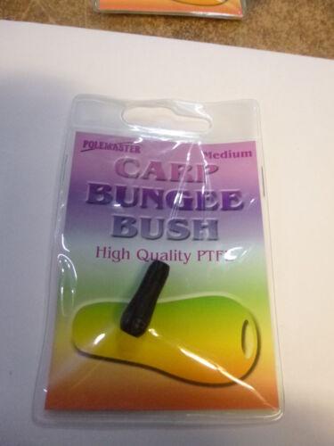 DRENNAN SUPER SLICK PTFE POLE BUSHES,INTERNAL,SLICK BUNGEE BLACK CARP BUNGEE
