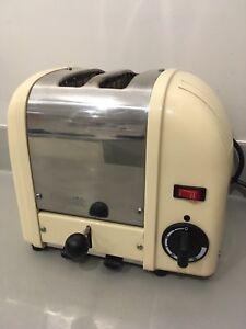 Dualit 2 Slice Toaster Cream
