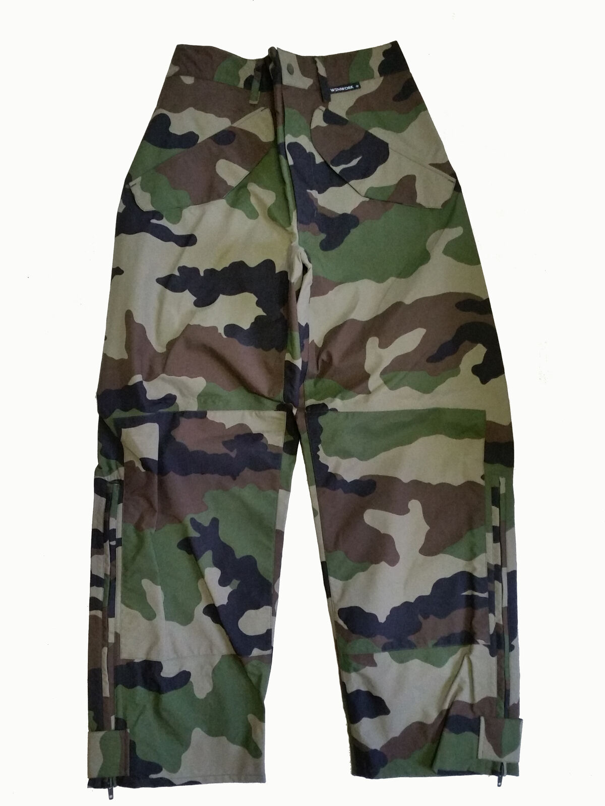 French Army Moisture Predection Pants Waterproof CCE Woodland Camo Wind