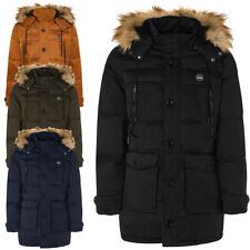 Cappotto uomo TWIG Field Parka L309 cappuccio con pelliccia giubbotto giacca