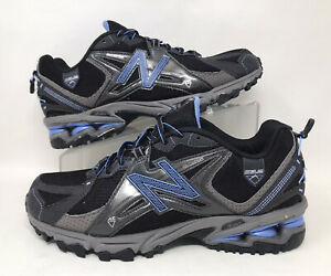 Detalles acerca de New Balance Para hombre 9.5 Negro Gris Azul Claro/810  Trail Running Zapatos/Envío Gratis- mostrar título original