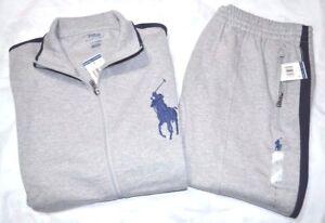 d8f28ab19 Ralph Lauren Polo Big Pony Interlock Sweat Pants   Jacket Track Suit ...