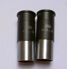 Eyepieces Zeiss Jena Pk 8x 18 Diameter 232 Mm