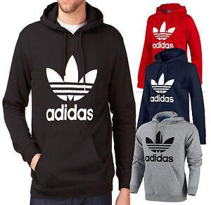 Détails sur Adidas Originals Essential Crew Sweat Noir Sweat, Pull, trèfle afficher le titre d'origine