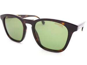 CARRERA-143-S-unisex-Sunglasses-Dark-Brown-Havana-Green-Lenses-086-QT