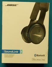 BOSE SOUNDLINK ON-EAR BLUETOOTH HEADPHONES - BLACK/BLUE