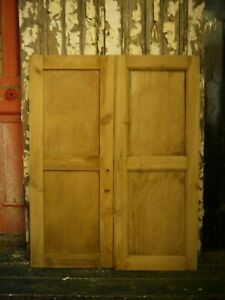 C74b-33-1-4-x-42-Pair-of-Old-Victorian-Cupboard-Doors-from-U-K-finest