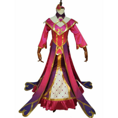 LOL Sweetheart Sona Buvelle Maven of the Strings  Cosplay Costume