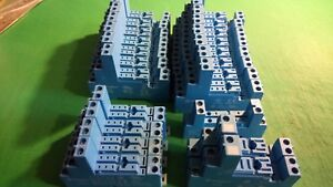 24 x Finder Relay Sockets 97.02, 95.05, 95.83.1, 97.01, 94.74
