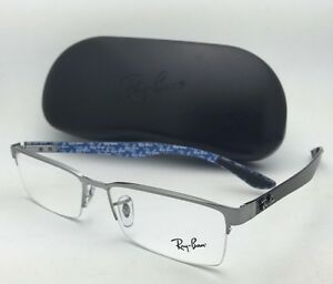1b9f1c5a151 New RAY-BAN Rx-able TECH SERIES Eyeglasses RB 8412 2502 Gunmetal ...