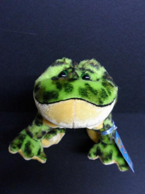 Webkinz Ganz Bullfrog HM114 No Code Plush EC for sale online