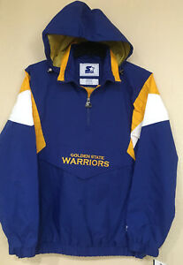 info for d6d26 d01b2 Details about Golden State WARRIORS STARTER Men's Jacket NFL Licensed - THE  BREAKAWAY Jacket