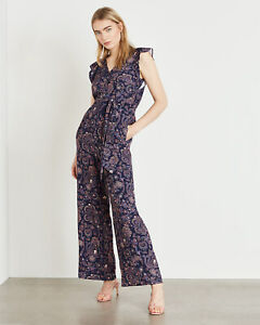 Phase-Eight-Jayesha-Paisley-Print-Jumpsuit-Palazzo-All-In-One-Dress-6-to-16-New