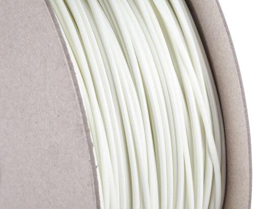 Ø10,0mm Glasfilament-Textilschlauch mit Silikongummibeschichtung Natur Ø1,50mm