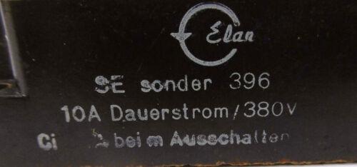 Elan Schaltelement SE sonder 39610A Dauerstrom//380V