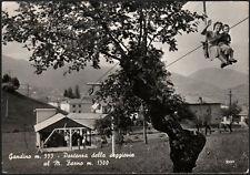 cartolina GANDINO partenza della seggiovia al m.farno