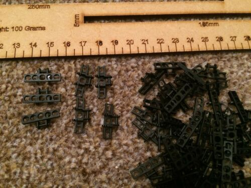5 x Lego Track Chain Link Tread Small BLACK Parts Pieces FAST FREE UK POSTAGE