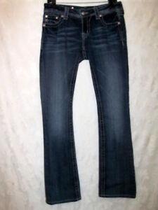 Denim 1 2 Me Miss Stretch 32 X euc 30 Sz Støvfabrik bleknet Distressed Jeans dxPXwXqZ
