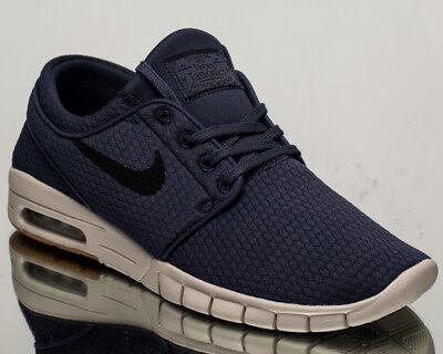 Nike SB Stefan Janoski Max Air Herren Lifestyle Sneaker NEU blau schwarz 631303 402   eBay