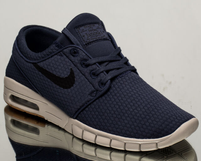 792bb8d9bf16 Nike SB Stefan Janoski Max air men lifestyle sneakers NEW blue black  631303-402