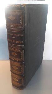 Histoire de France Ilustrado Por H. Bordier&e. Charton Tomo 1ER 1881 París