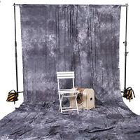 10X20 Gray Backdrop Muslin Photo Background Photography Grey Studio Cloth NEW