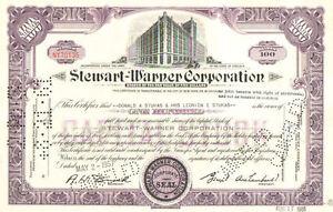 Stewart-Warner-Corporation-gt-1950s-1960s-Virginia-stock-certificate-share