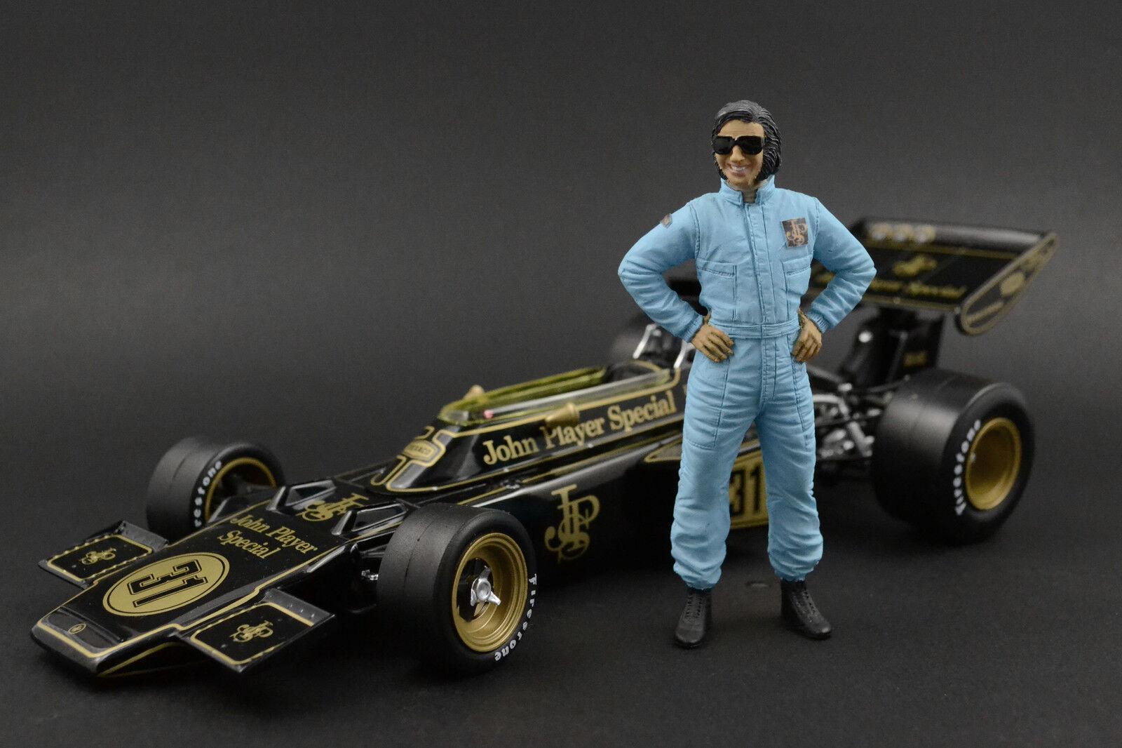 Emerson Fittipaldi Figure pour 1 18 AutoArt Lotus-Ford 72E F1 RARE
